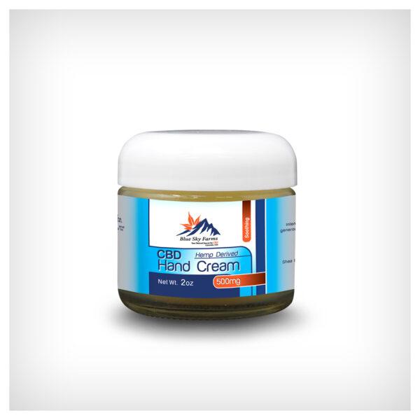 Topical CBD Hand Cream