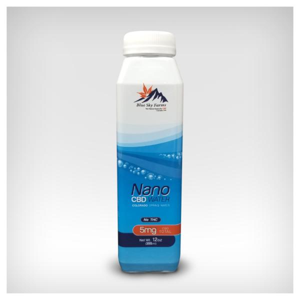 Blue Sky Farms Nano CBD Water with 5mg Nano CBD